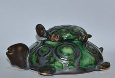 Hand made ceramic turtles-2