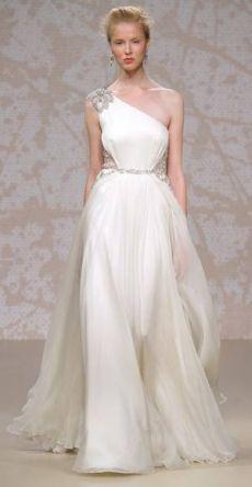 Платье на свадьбу в греческом стиле
