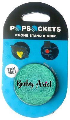 Baby Ariel Mandala Pop Socket