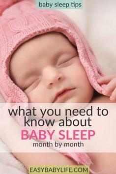The honest guide to baby sleep patterns by month! Newborn sleep pattern baby sleep patterns baby sleep tips baby sleep by month baby sleep tips baby sleep through the night via Sleeping Patterns For Babies, What Is Sleep, After Baby, All Family, Baby Hacks, Baby Tips, Infant Activities, Mom And Baby, Lil Baby