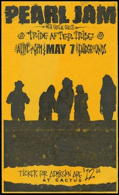 702728262b7 1659 Best Pearl Jam Concert Posters images in 2019
