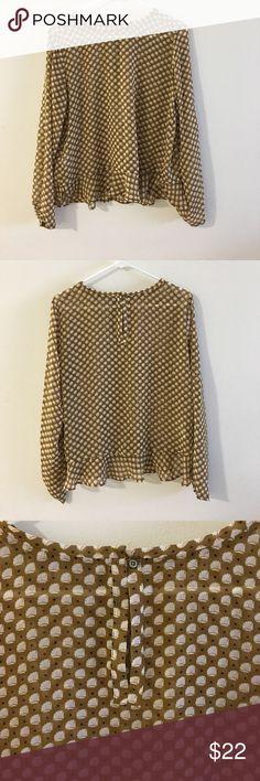 Selling this LOFT Blouse on Poshmark! My username is: yeahchels. #shopmycloset #poshmark #fashion #shopping #style #forsale #LOFT #Tops