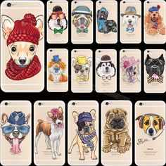 >> Click to Buy << For iPhone6S Luxury Design Pattern Pet Dog Soft Silicon Phone Cover Cases For Apple iPhone 6 iPhone 6S iPhone6 Case Shell Hot! #Affiliate