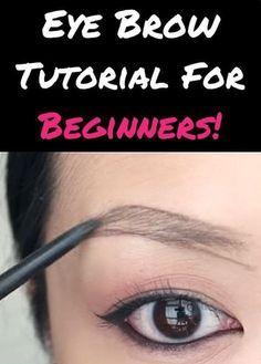 First-Time Eyebrow Makeup Walkthrough