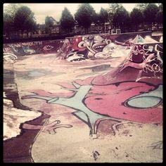 skatepark Skate Park, Utrecht, Skateboarding, Four Square, Playground, Environment, Exterior, Urban, City