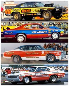 Funny Car Drag Racing, Auto Racing, Dodge Charger Models, Dragster Car, Plymouth Muscle Cars, Cool Car Pictures, Plymouth Duster, Nhra Drag Racing, Old Race Cars