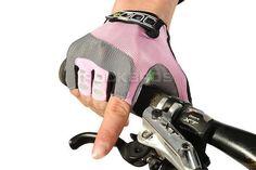 RockBros Non-Slip Breathable Bike Gloves Mens Women's Summer Bicycle Short Gloves Cycling Cycle Gel Pad Short Half Finger Gloves