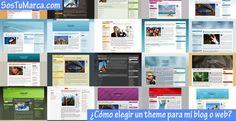 Cómo elegir un theme para mi blog o web