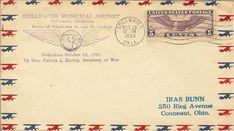 Nice airmail envelope