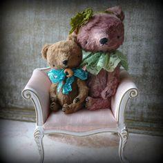 4 inch Artist Miniature Pocket Size Teddy Bear by SashaPokrass, $119.00