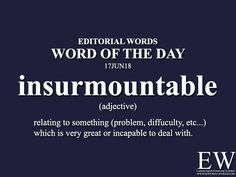 Word of the - Editorial Words Advanced English Vocabulary, Learn English Grammar, English Vocabulary Words, Learn English Words, English Phrases, English Idioms, English Language, Interesting English Words, Unusual Words