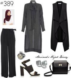 Fashion Arabic Style Illustration Description Hijab Fashion – Read More – Modest Fashion Hijab, Hijab Chic, Islamic Fashion, Muslim Fashion, Hijab Outfit, Hashtag Hijab, Look Fashion, Fashion Outfits, Hijab Stile