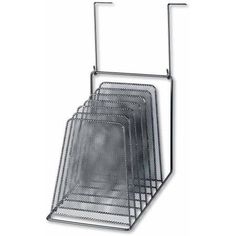 Fellowes Mesh Partition Additions Six-Step File Organizer, 7-1/2 inch x 10-1/2 inch x 17 inch, Black