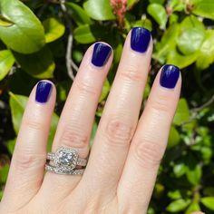 "Kelly on Instagram: ""OPI Award for Best Nails goes to... is a deep cobalt creme. Two coats over a base coat. 💅🏻💙💅🏻💙💅🏻💙 . #opi #opilove #opinails #opispring2021…"" Diy Manicure, Opi Nails, Base Coat, Cobalt, Deep, Engagement Rings, Instagram, Jewelry, Enagement Rings"