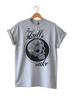 For Skulls Sake #TEE By Ben Prints