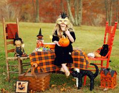 A picnic Halloween style.