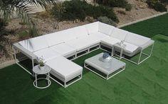 conjunto de sofás y mesa para exteriores modelo oshini