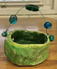 1st Grade Pinch Pot Fancy…