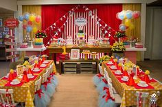 Party Themes For Adults Crazy Ideas Circus Carnival Party, Circus Theme Party, Carnival Birthday Parties, First Birthday Parties, Birthday Party Themes, Circus Wedding, Birthday Ideas, Vintage Circus Party, School Carnival