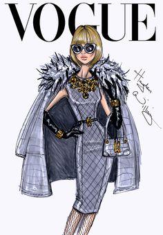 Drawn: The Fashion Illustrations Of Hayden Williams (glitternglue.com)