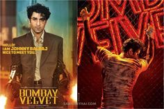 Bombay Velvet Movie First Poster Features Ranbir Kapoor