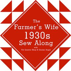 The Farmer's Wife 1930's Sampler Quilt Sew Along - Fat Quarter Shop - Gnome Angel.