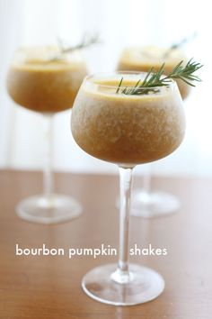 Bourbon Pumpkintini: A Healthy Pumpkin Shake, minus the eggs: (1c ...