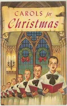 Carols for Christmas~ This reminds me of the Singing Boys of Houston when we sang on the candlelight tour downtown Houston. ..... Fa La La La La~ ~