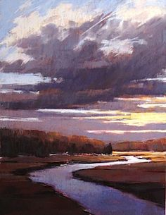 """Approaching"" by Christine Bodnar pastel"