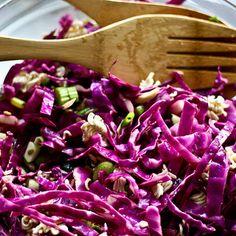 Purple Cabbage Salad @keyingredient
