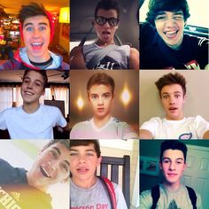 Nash Grier, Taylor Caniff, Aaron Carpenter, Matthew Espinosa, Jack & Jack, Cameron Dallas, Hayes Grier, Shawn Mendes