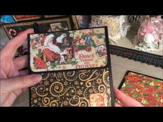 St Nick Accordion Mini Album Walk Through and Tutorial - YouTube. Like the inserts in this album
