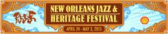 New Orleans Jazz & Heritage Festival | A huge tourism draw. I'd recommend going once, especially if someone you love is playing. But it's definitely better to see the local bands at local locations.