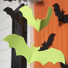 Halloween craft: Bat Storm