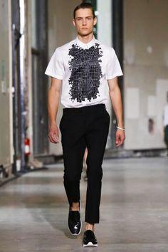 KRISVANASSCHE Spring Summer Menswear 2014 Paris
