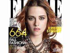 Kristen Stewart Is the Cover Girl of ELLE September Issue #ELLE, #FieldsMarket, #KristenStewart