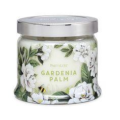 Gardenia Palm 3-Wick Jar Candle