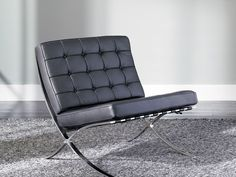 Rent the Accent Chair Black Barcelona for your home: Home Furniture Rental by CORT Furniture