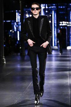 Saint Laurent Menswear Fall Winter 2015 Paris - NOWFASHION