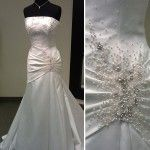 Fit and Flare Casablanca Wedding Dress
