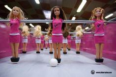 Un Barbie Foot:-) De chez Bonzini, evidemment !