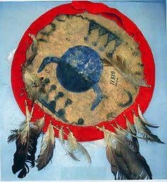 Ornamented Shield - White Mountain Apache