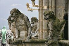 Gargoyles overlooking Paris