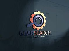 Gear Search Logo by Josuf Media on Creative Market