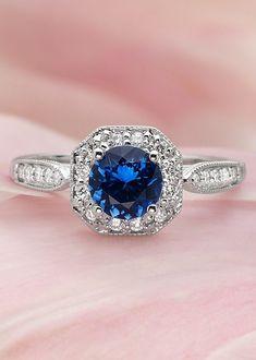 Stunning sapphire ring!