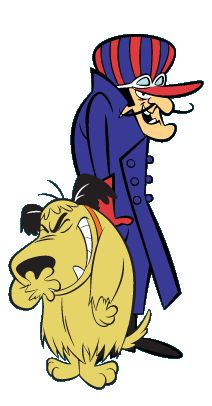Dick Dastardly and Muttley - I've never been a big fan of anything Hannah Barbera, but you have to give it up for these guys. Two of the best voices in cartoon history and their chemistry was pretty good too!