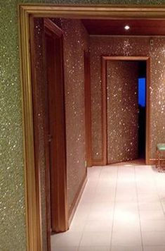30 Inspiring Glitter Wall Paint to Make Over Your Room - Home Design Dreamhouse Barbie, My New Room, My Room, Glitter Paint For Walls, Glitter Paint Interior, Glitter Home Decor, Sparkle Paint, Paint Walls, Glitter Crafts