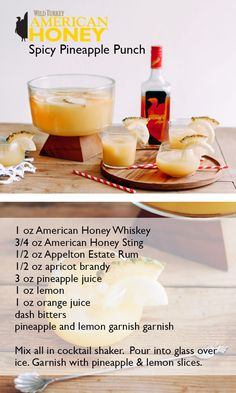 Spicy Pineapple Punch Recipe