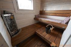 Sun Sauna, Seinäjoen asuntomessut, Iki-kiuas, Kuusamo Hirsitalot