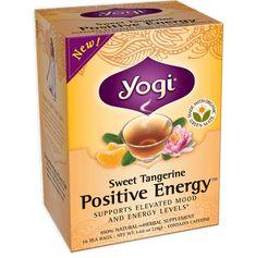 A new favorite!!!! Yogi Tea Energy Teas